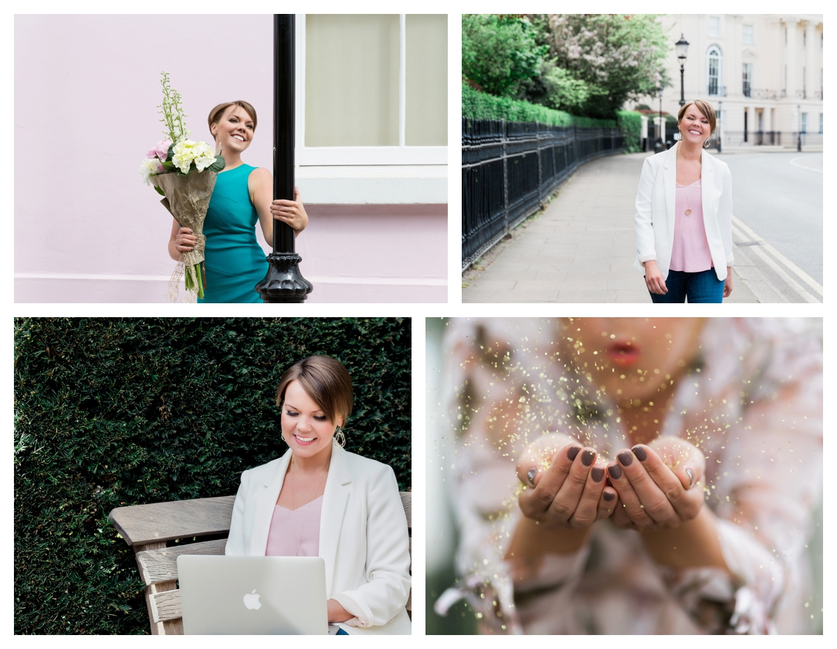 A personal branding photoshoot in elegant London