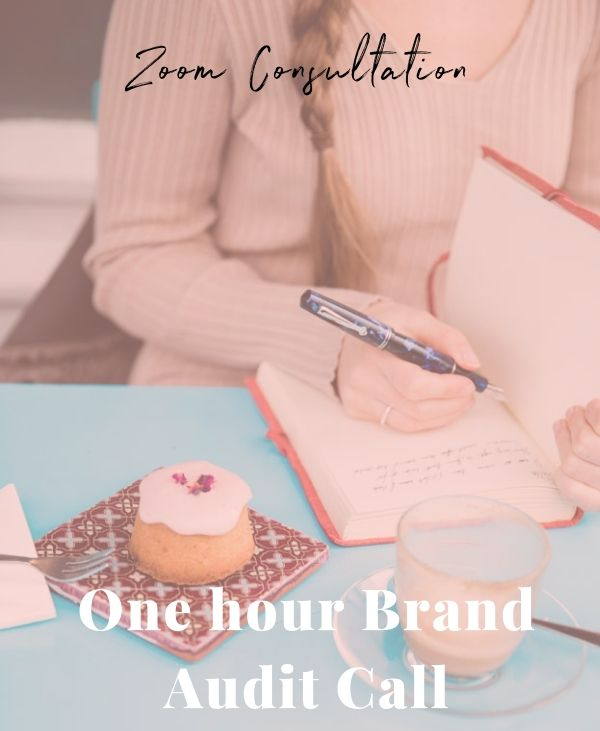 One hour brand strategy call