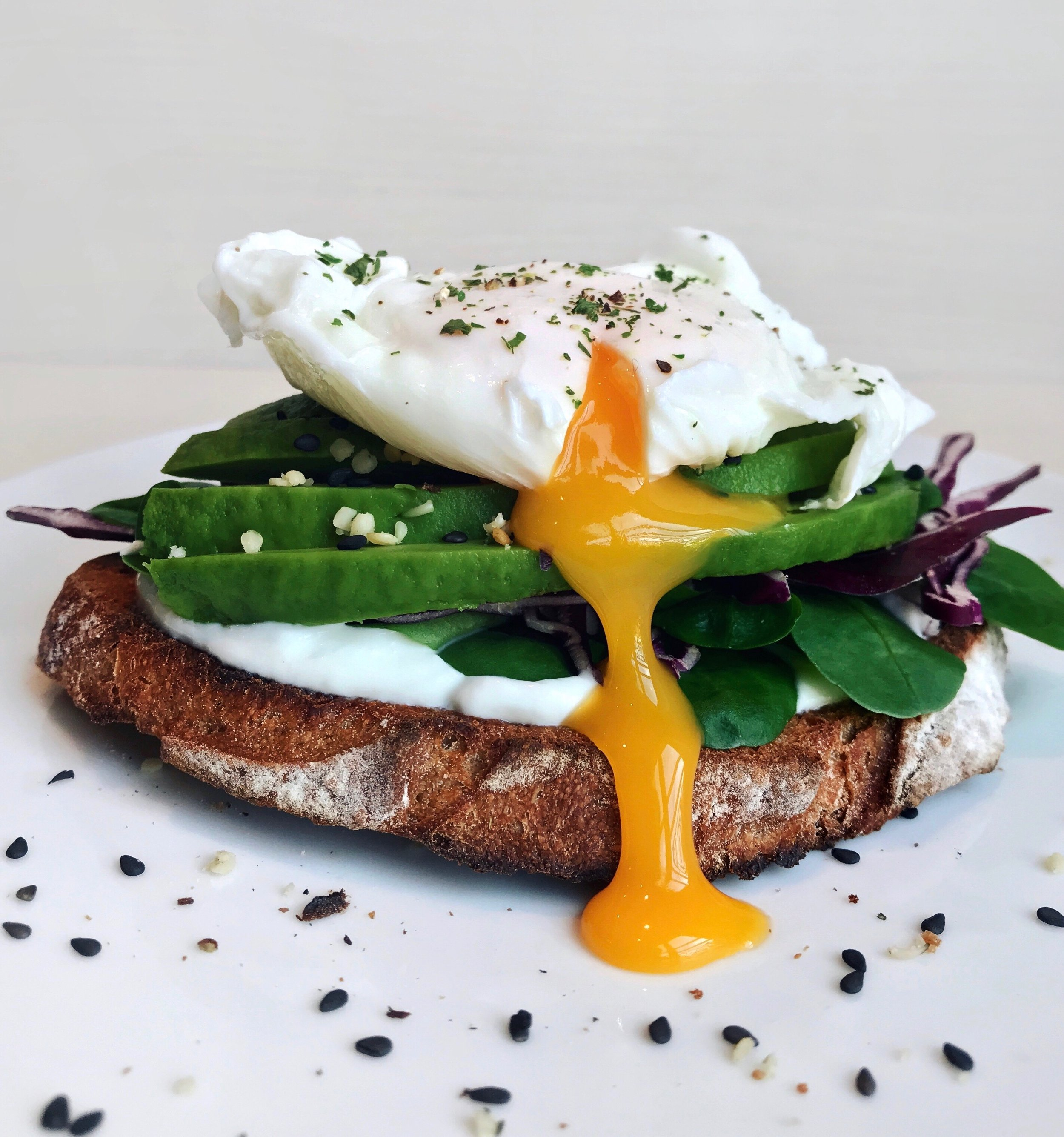 Avocado & Poached Egg