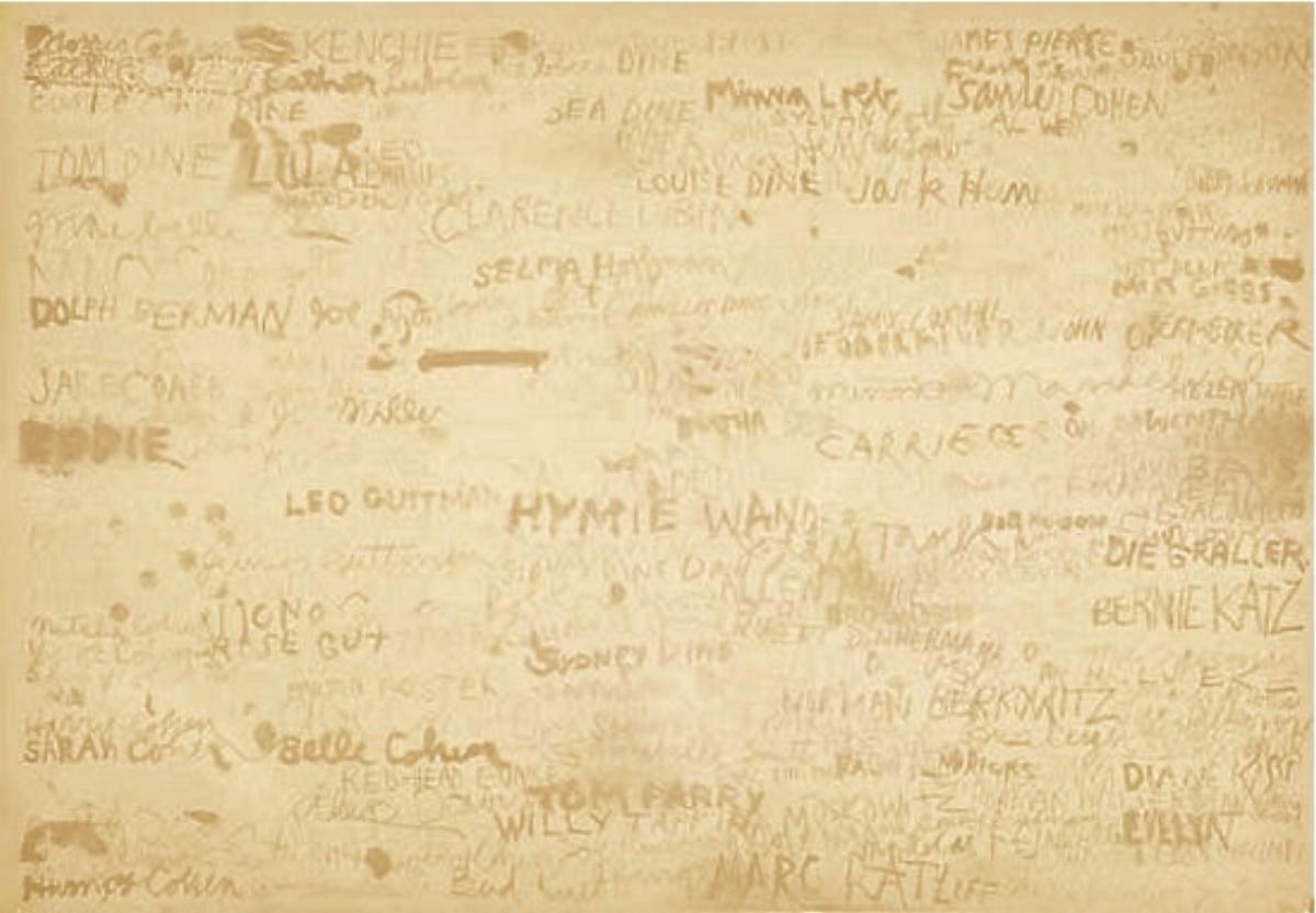 "Jim Dine, CINCINNATI, 1969 [See Micro 50-52], lithograph, 29.25"" x 41.5"" ed: 6"