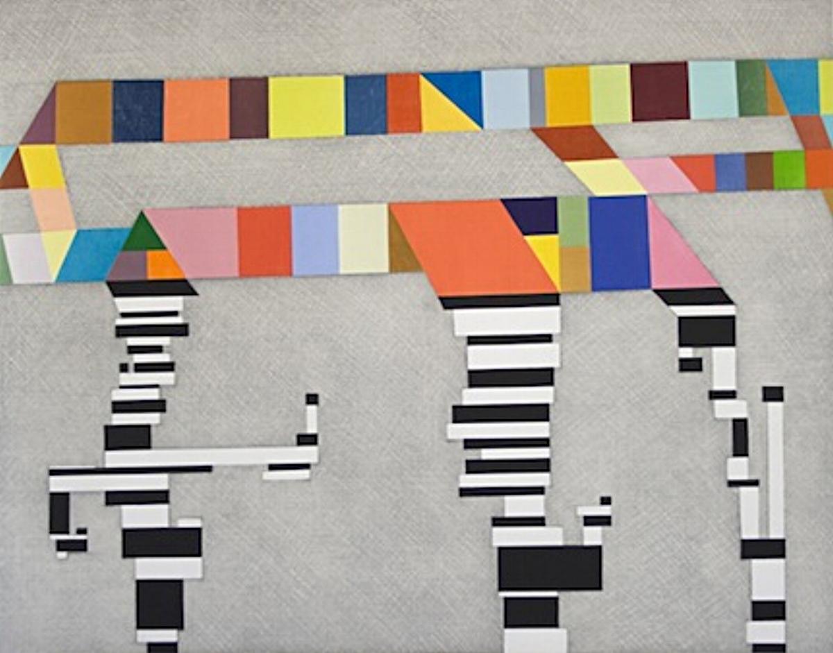 Thomas Nozkowski, UNTITLED #2, 2012, series of six aquatints and woodcuts, various sizes ed: 25