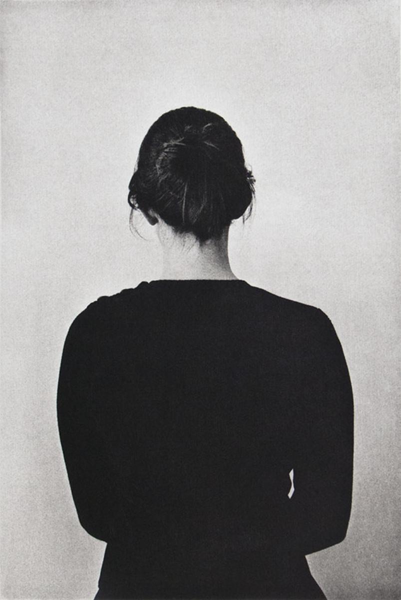 """Philip Van Keuren, WOMAN, 2016, photogravure, 18"""" x 14"""" ed: 12"""