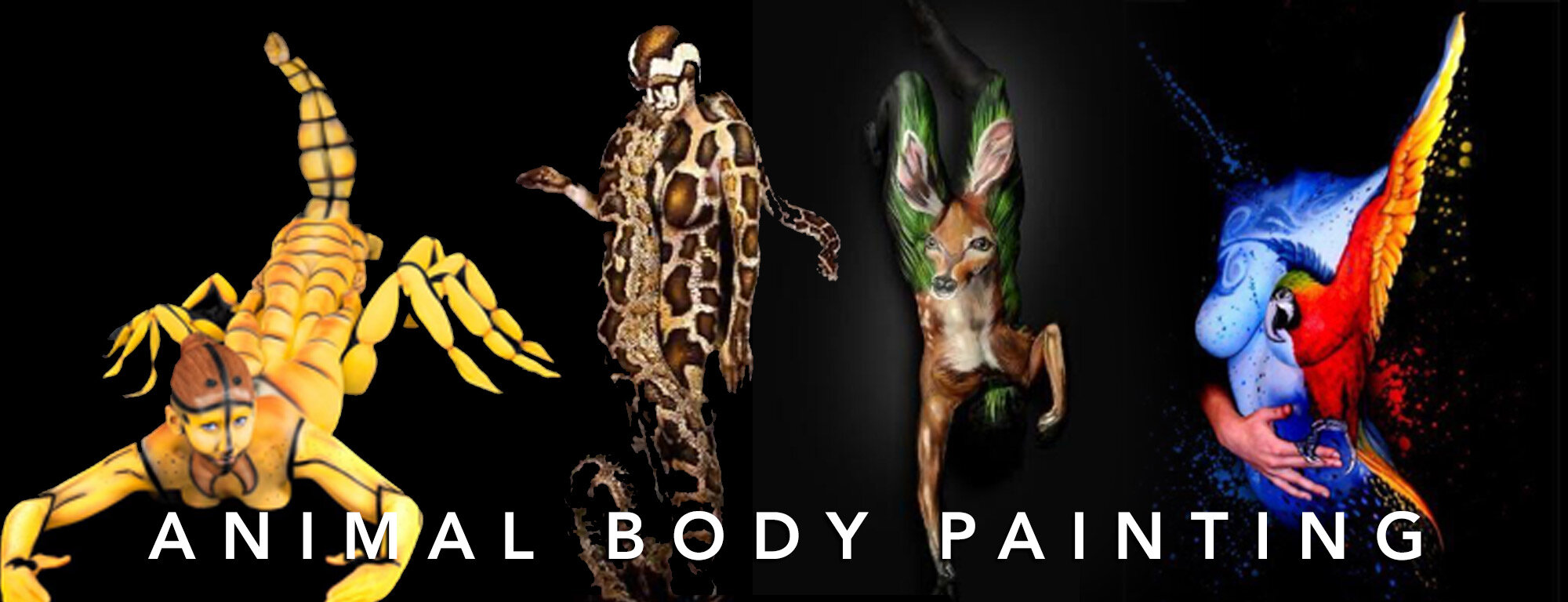 54 Animal Bodypaint Images The Ultimate Guide Trina Merry