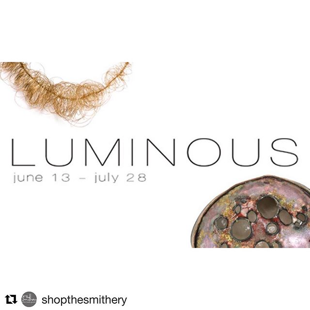 Excited to be part of the latest exhibition at The Smithery! If you're in Columbus, stop by to check it out! . #Repost @shopthesmithery:  We are excited to bring you our next exhibition, LUMINOUS! Join us for the opening reception on June 13 from 6-8pm. We have a great group of artists showcasing a variety of jewelry with their interpretation of our theme, LUMINOUS. This show will feature work by: Lucia Behmer Chelsea E Bird Kaitlyn Evans  Anne Holman Bethany James Andrea Kender  Airi Maeno Olivia Shih Jen Townsend 👇🏻 Work featured in this image by Airi Maeno and Kaitlyn Evans. . . . ⠀⠀ #thesmithery #ingrandview #handmadejewelry #asseenincolumbus #expcols #artjewelry #contemporaryjewelry #studiojewelry #metalsmith #snagmember #riojeweler #artistmade #supportartists #artjeweler #jewelryexhibition
