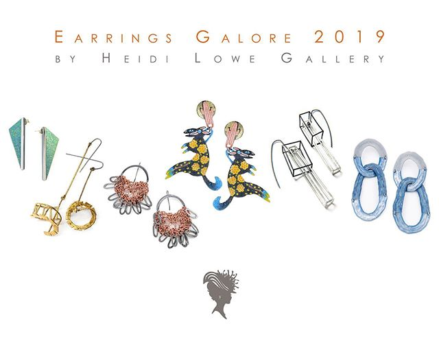 Happy to have a few small pieces in two shows at this year's SNAG conference! . Thank you @heidilowe @alleghenymetals @stacyrodgersjewelry @aceagogo @katierearick and everyone who helped bring these shows together! You are awesome! . #earringsgalore2019 #adornedspaces2019 @snagmetalsmith