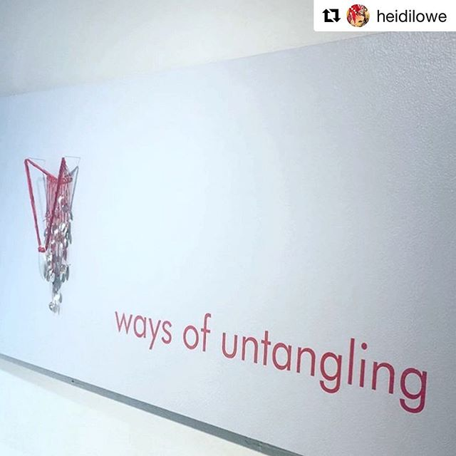 Thank you for such a wonderful opening night! . #Repost @heidilowe ・・・ Come by to see the lovely work by @kaitlynlevans. On view at Heidi Lowe Gallery through September.