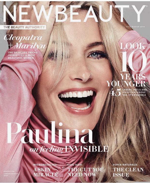 Paulina Porizkova for New Beauty.