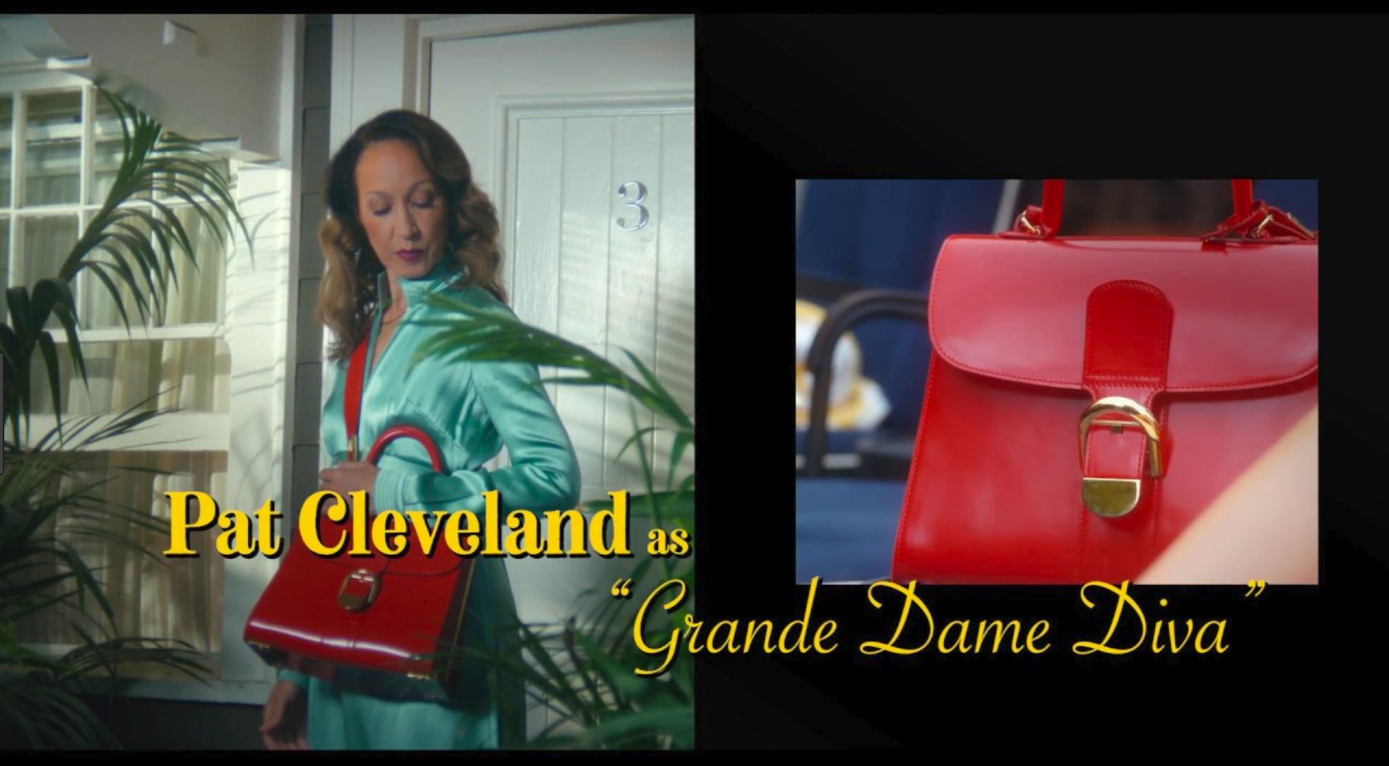 Pat Cleveland for Delveaux. Shot by Zoe Cassavetes.