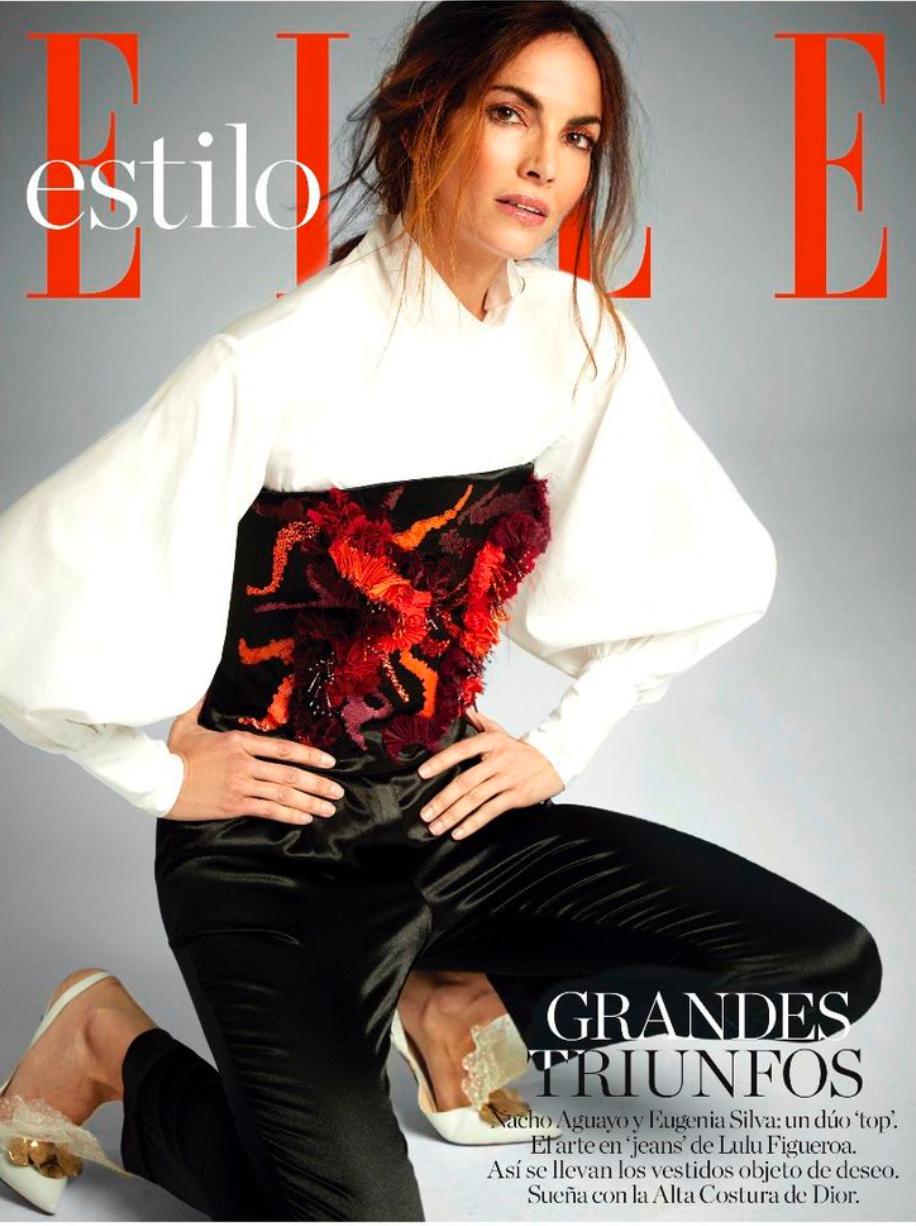 Eugenia Silva for ELLE Style..