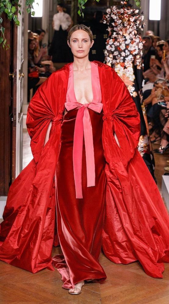 Valentino. Haute Couture Fashion Week, 2019.