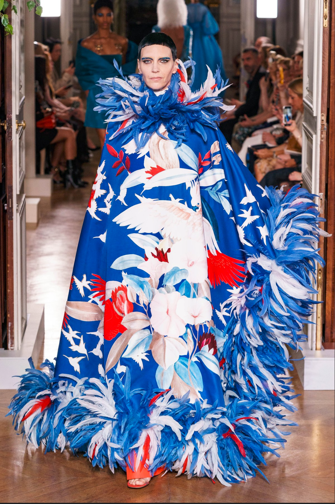 Valentino. Haute Couture Paris Fashion Week, 2019