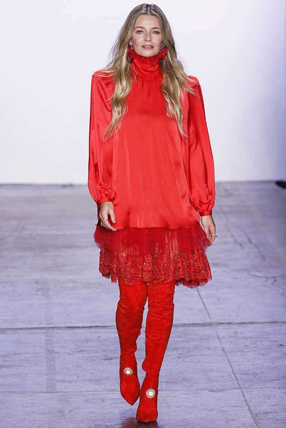 Jiri Kalfar. New York Fashion Week, 2019.