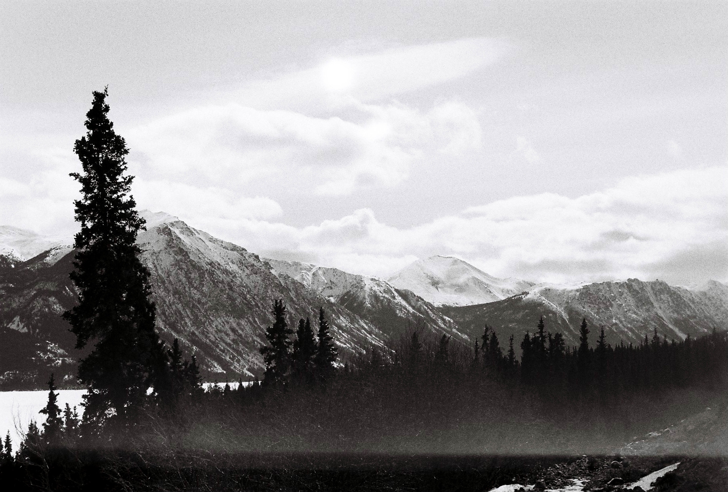 Heading back to Whitehorse from The Whitepass.