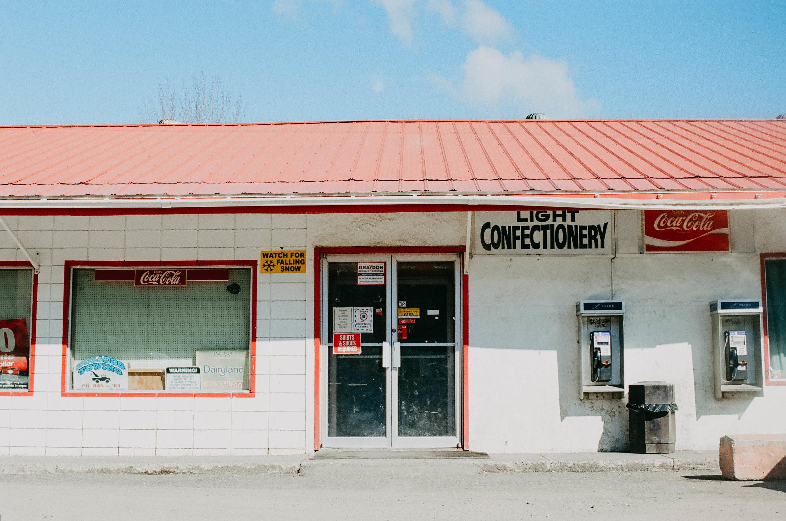 Alaska Highway junction.