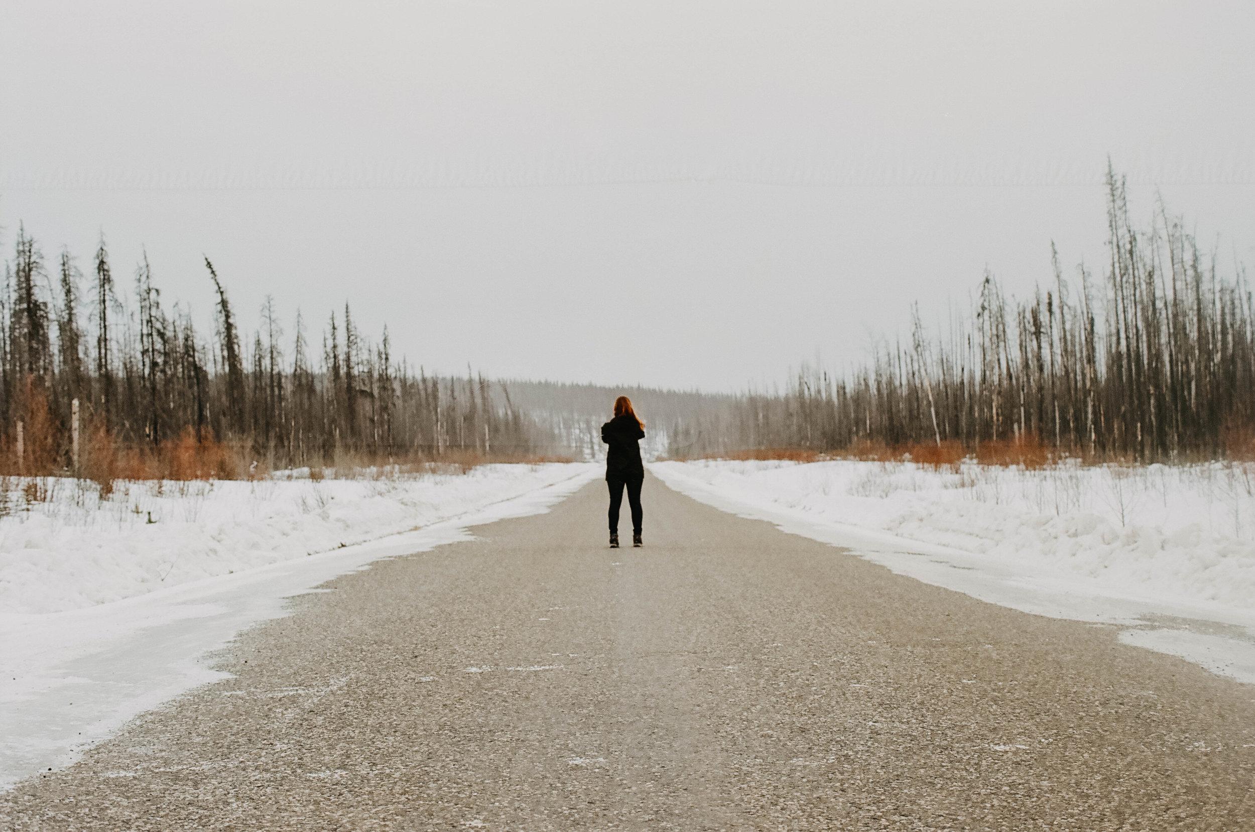 The Alaska Highway.