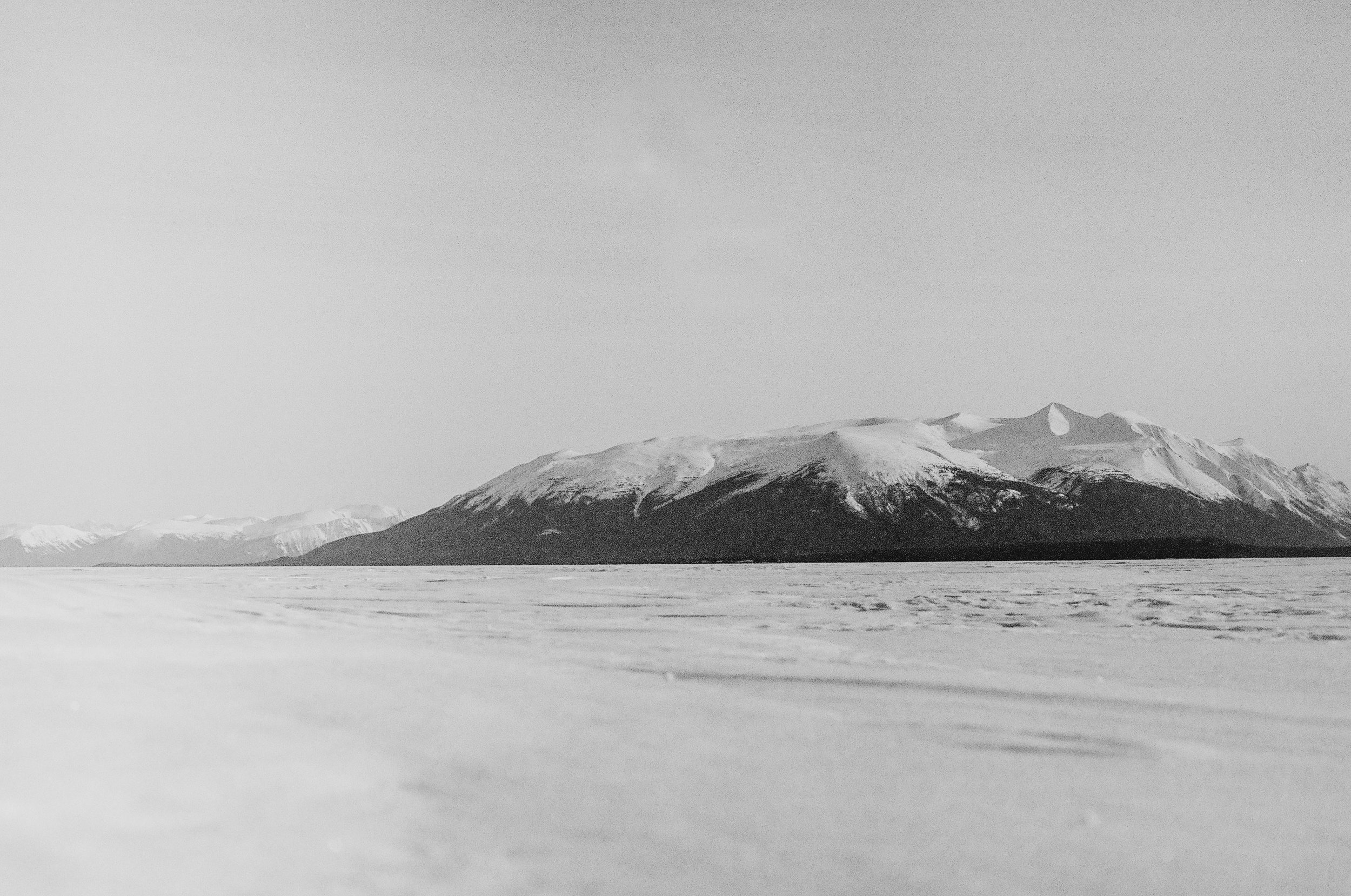 View from Atlin Lake.
