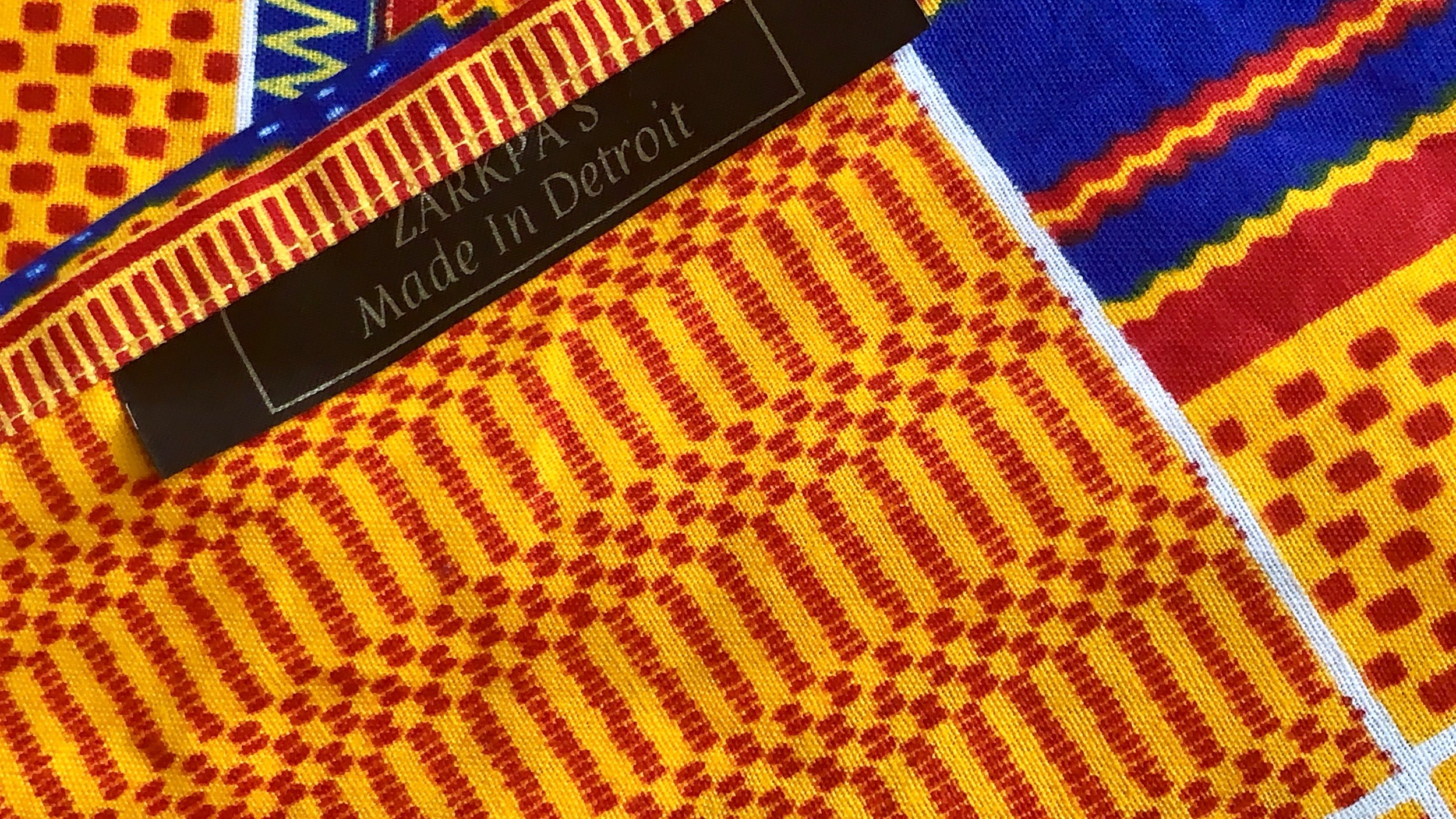West African MANUFActory Apparel Company   - Made in Detroit