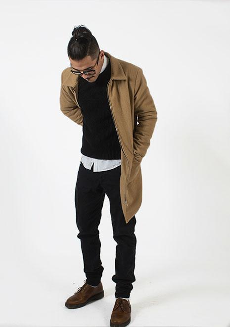 Leopald Albert - Chesterfield coatStart - up: Brand sample