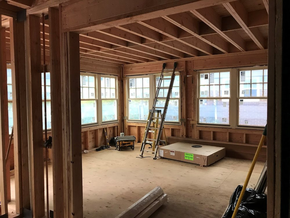 New Family Room --The Former Porch