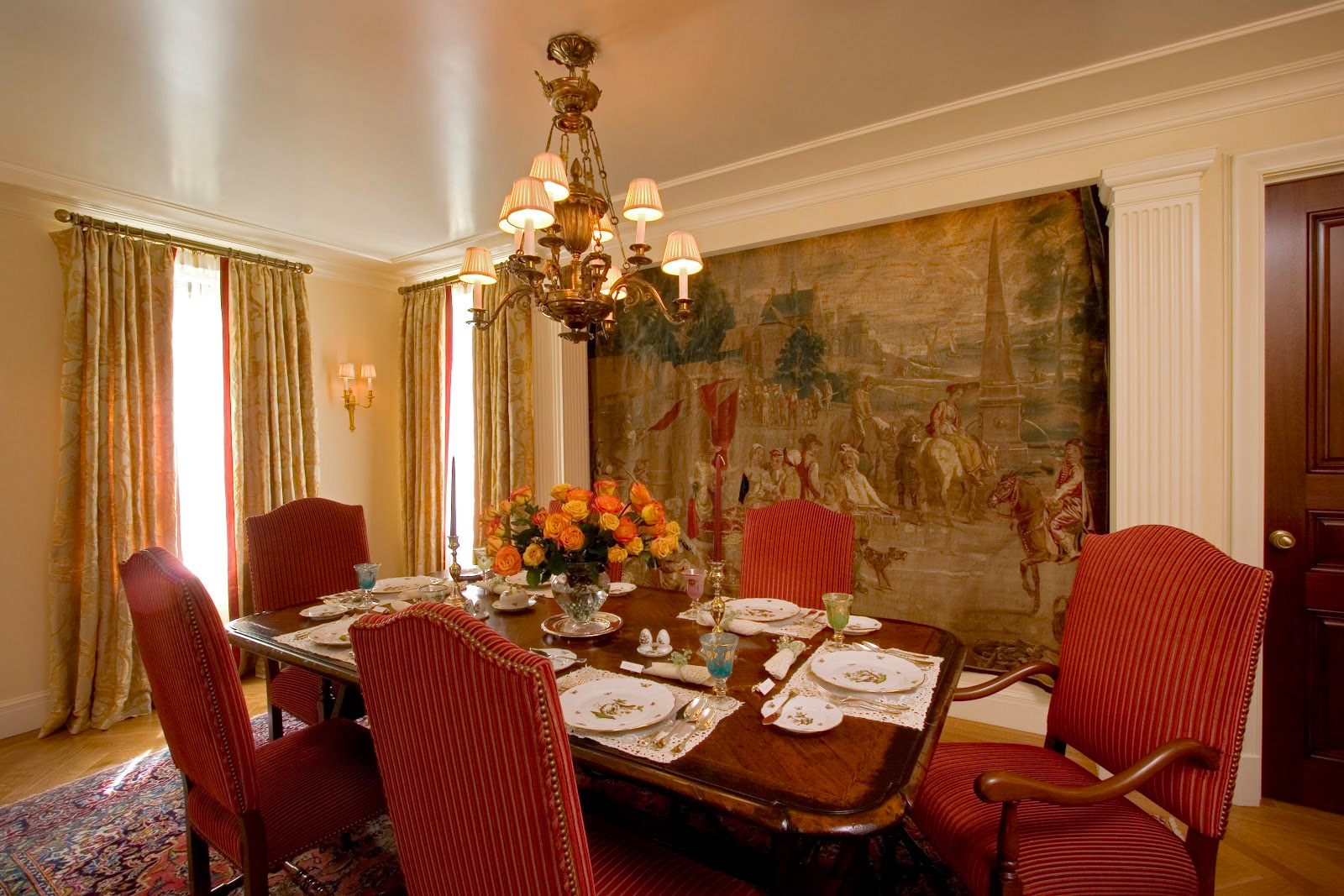 NYC Upper East Side Dining Room by Clawson Architects