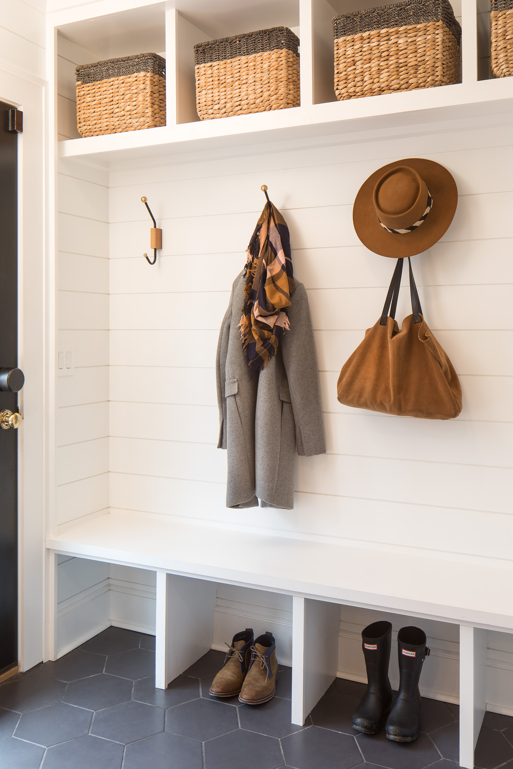 "The ""must-have"" mudroom."