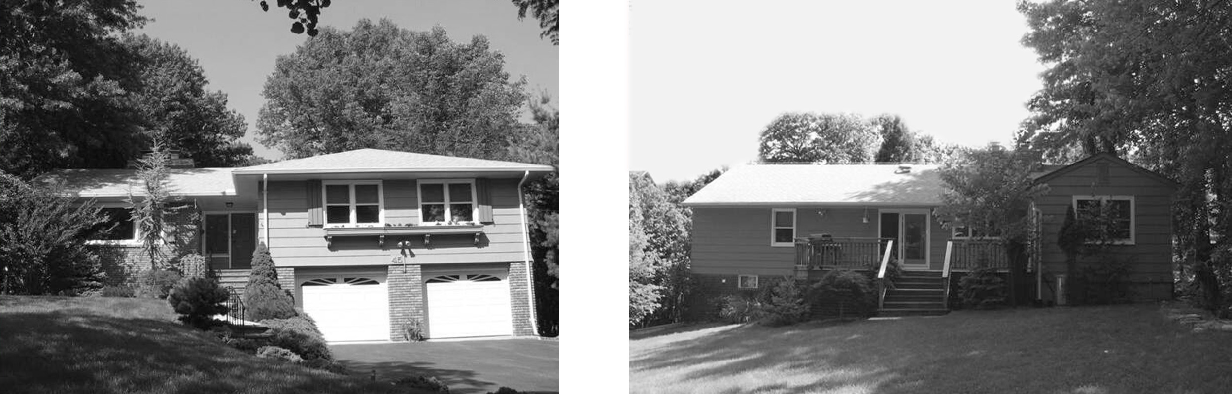 The original Ranch, shown front and back