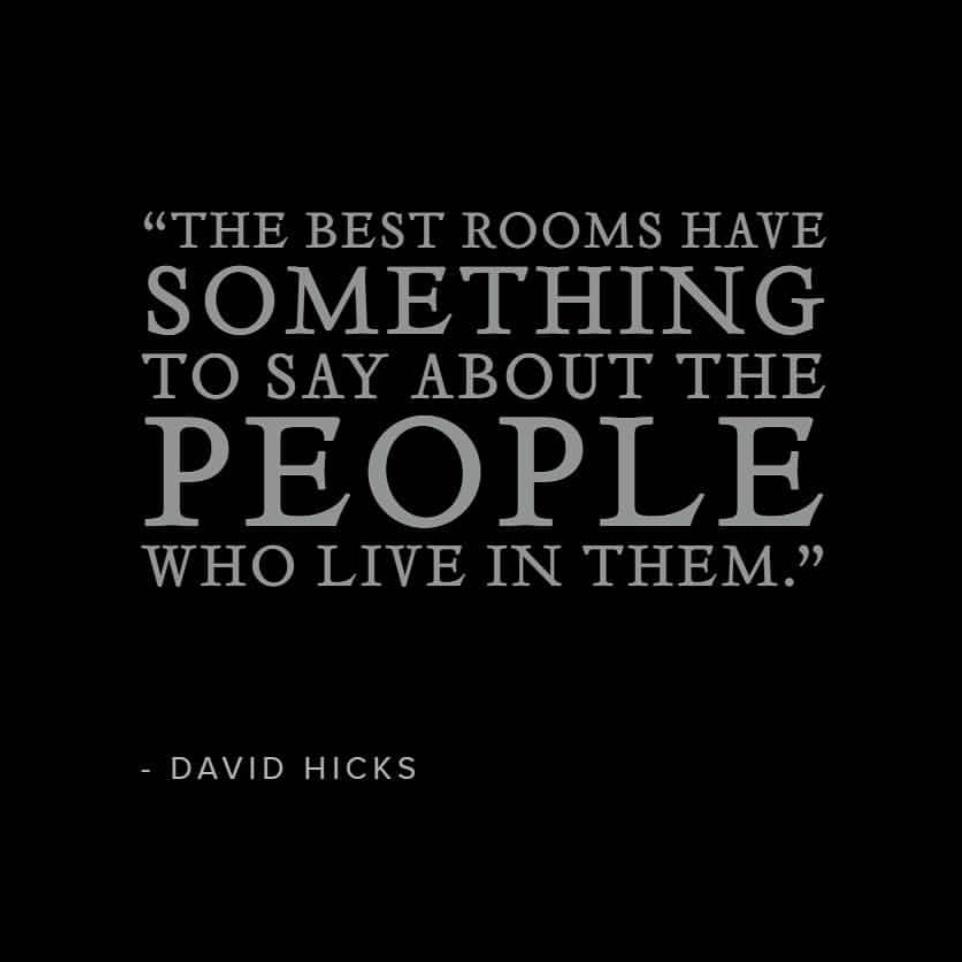 David Hicks (March 25, 1929 – March 29, 1998) Well known interior designer.