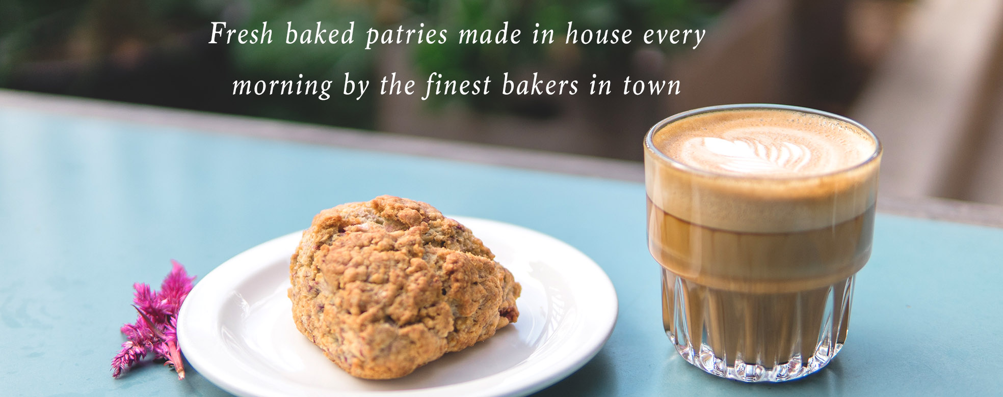 Pannikin La Jolla pastries and coffee
