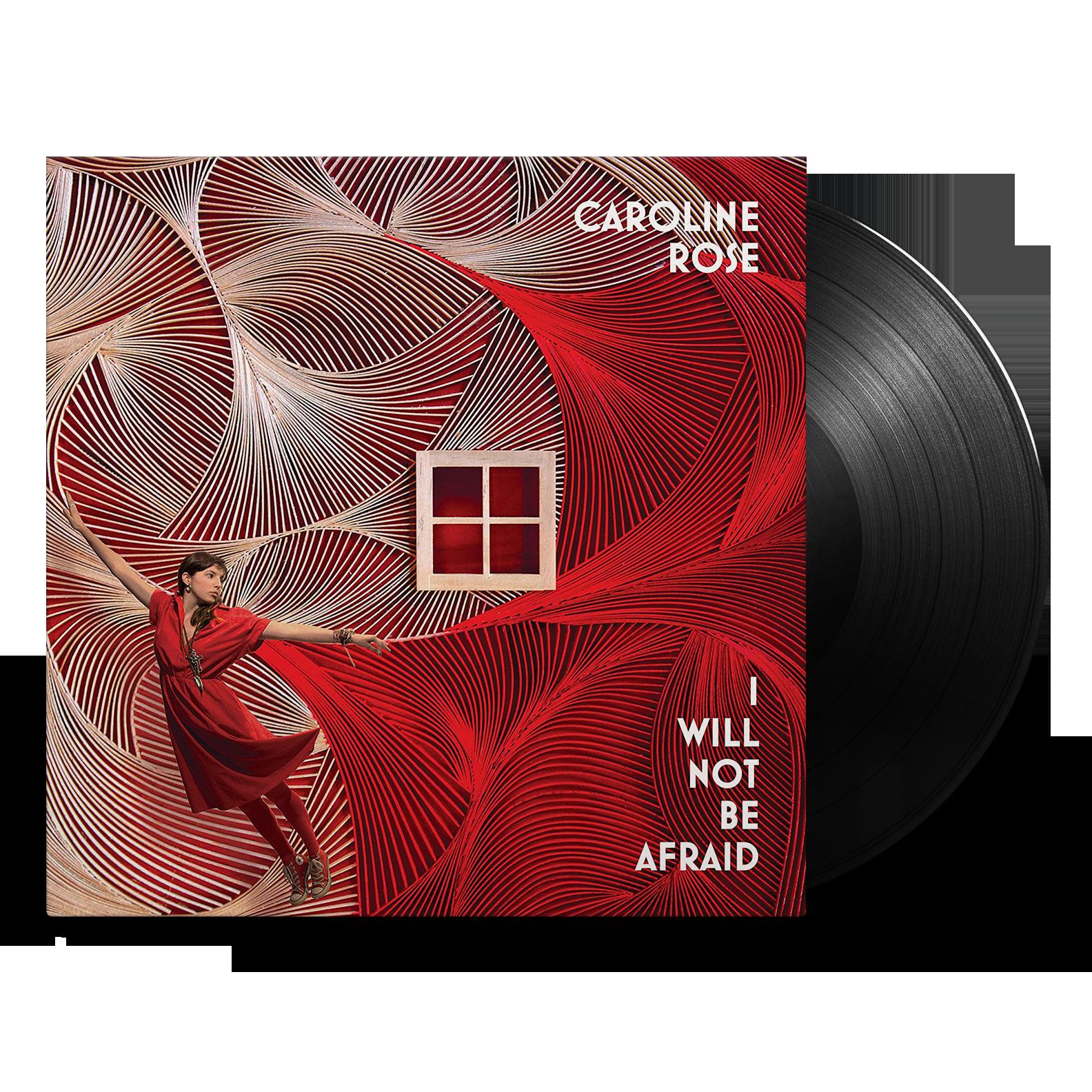 I will Not Be Afraid  on vinyl