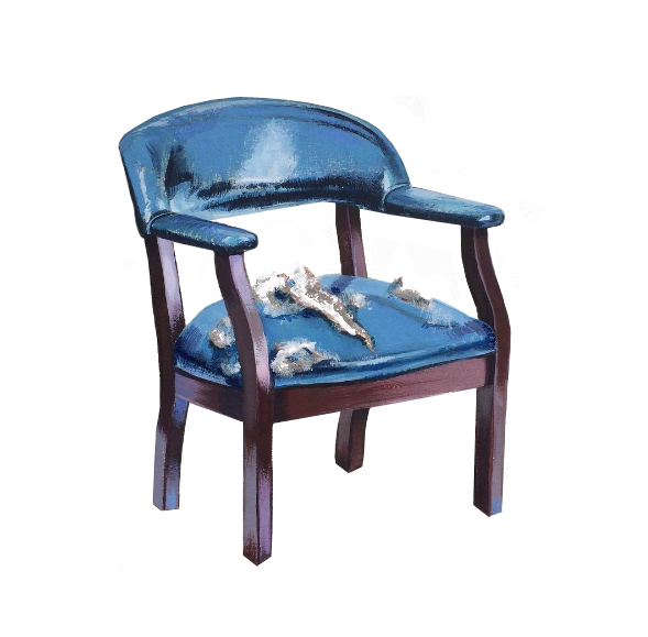 Boy's Club Guest Chair, 2016