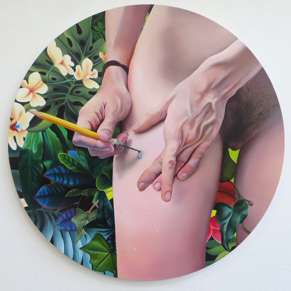 Paradiso,  oil on canvas, 2015