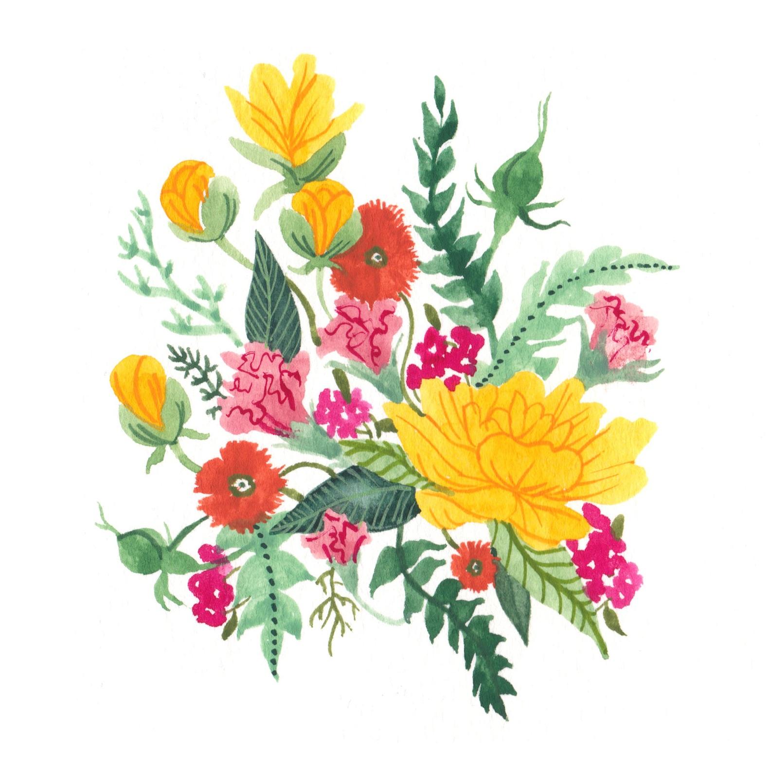 Peonies & Carnations,  2019