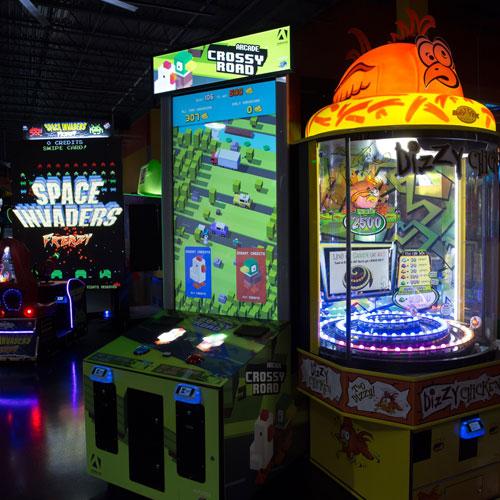 Razzmatazz Indoors Arcade Bar Chicago