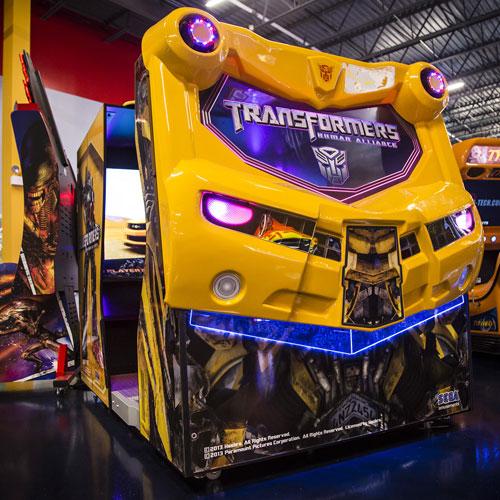 Razzmatazz Indoors Arcade Bar Chicago Transformers