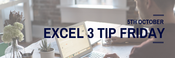 excel friday tips