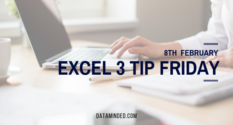 This week we cover creating your own Excel shortcuts menu, an easy date formatting shortcut, and the CONCATENATE function which allows you to combine text from different cells into one cell.
