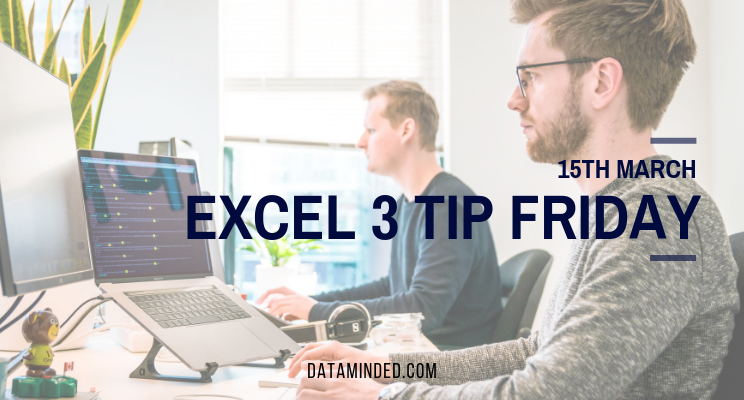 In our latest 3 tip Friday newsletter read about Excel's Flash Fill feature, shortcut which adds borders to the selected area and INDEX MATCH function, one of Excel's most powerful features.