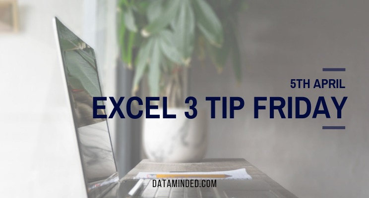 excel tips and tricks by dataminded