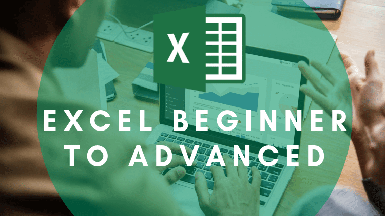 Microsoft Excel - Beginner to Advanced - Learn to become an Excel Guru with our beginner to advanced course