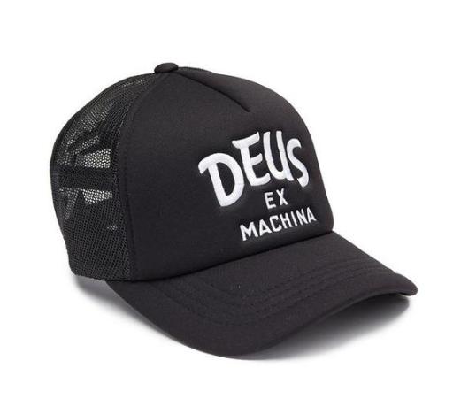 Deus Ex Machina Curvy Trucker Hat