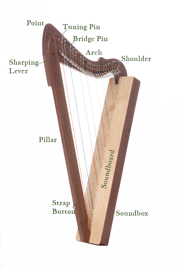 Rees Special Edition Fullsicle™ Harp in walnut.