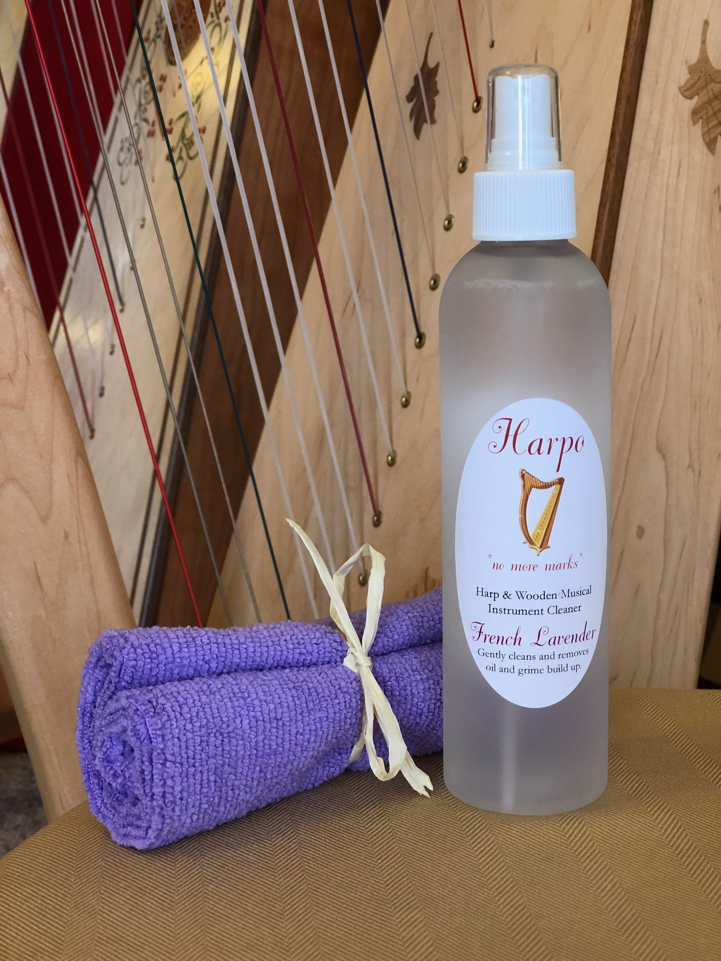 Harp Cleaning Kit