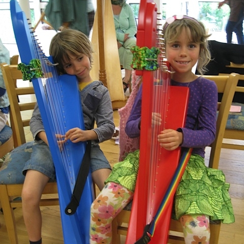 Harp Students - Germany