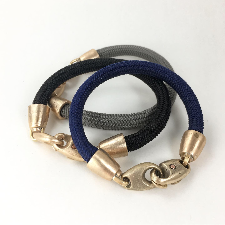 V2 Clasp Bracelet  bronze  $156