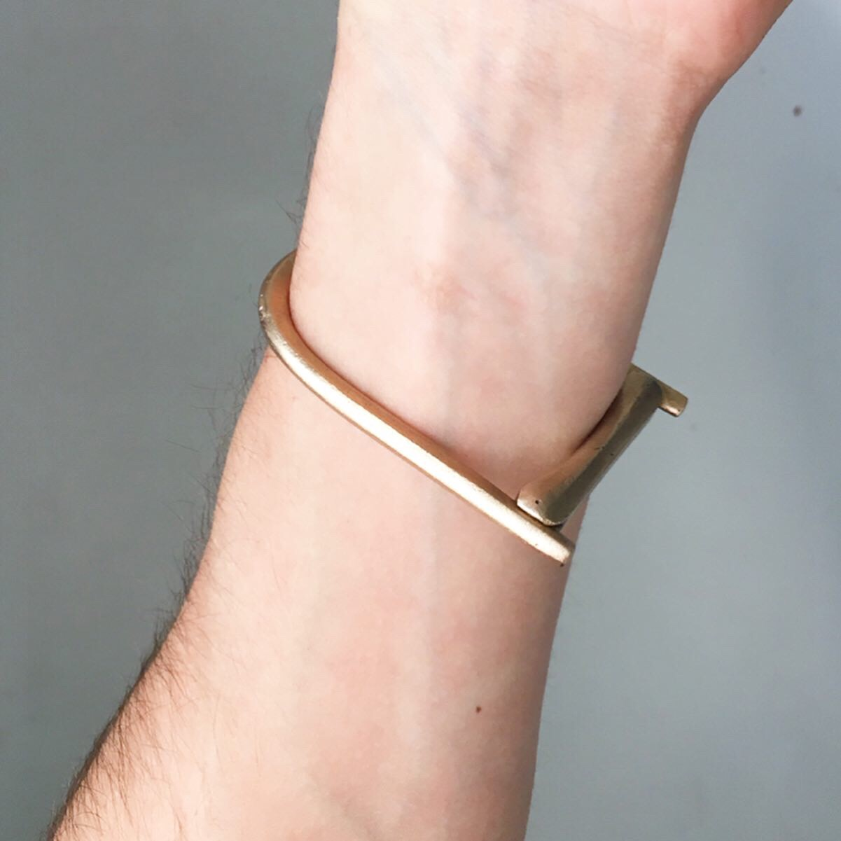 Tension Bracelet  bronze  $115