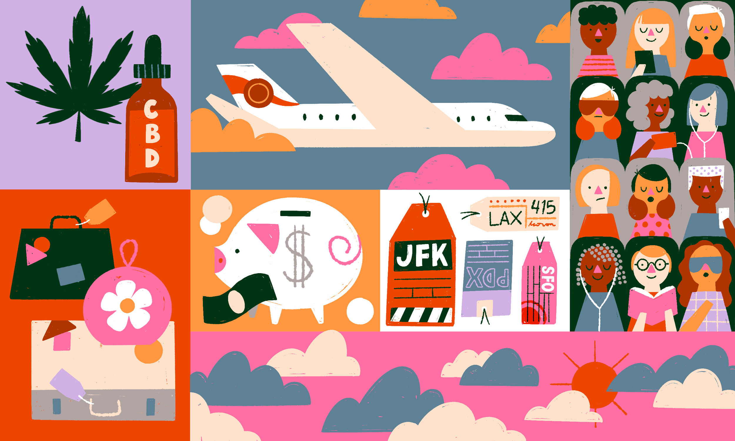 Flying this summer? Pack a backup plan, and breathe deeply if that's possible