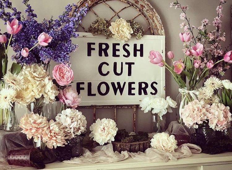 FreshCut FlowerSign - $70