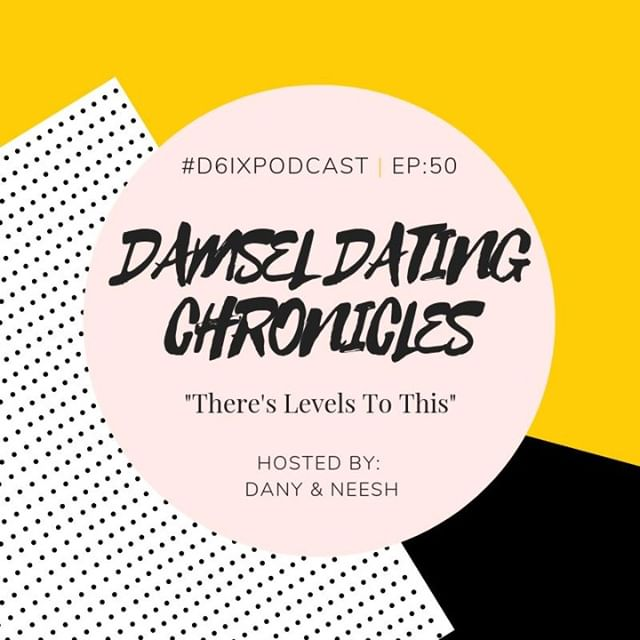 """A new episode of the Damsel Dating Chronicles is here! 💃It's also the 50th episode of the podcast!!! 🎉🎈 . Listen as we chat about: . 1) Men, the chase, and their 7 stages of falling in love: We'll deep dive into @Lizzo's """"Why are men great till they gotta be great?"""" lyric as it relates to courting and dating. 🤔 . 2) There's levels to this: Learn about the importance of dating someone ON 👏 YOUR 👏 LEVEL 👏 (and in your season). . 3) Inspiration: Learning about the difference between friends & fans. . And much more! This is a juicy episode that you don't wanna miss. Link in bio! 🎙"""