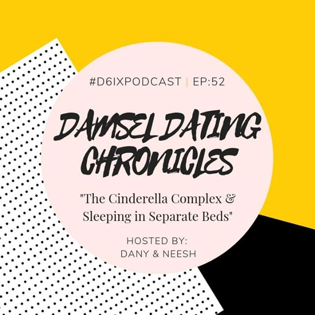 """It's #DamselDatingChronicles Day! Tune in as we chat about: . 1) The Cinderella Complex: How does the media's portrayal of the """"ideal"""" relationship negatively impact our own views? Are we blocking our blessings by dismissing good prospects because they don't align with that we see in TV in movies? 🤔 . 2) Sleeping in Separate Beds: Does sleeping in separate beds indicate the end of a relationship? Or could it actually be just what you need to spice up your relationship? 👀 Listen as we share what the experts think! We'll also reveal some other damaging nighttime routines that may be ruining your relationship. . 3) Inspiration: U N P L U G! Are you tethered to your device 24/7? tune in for some much-needed inspo to kick that habit. . This is an episode you won't wanna miss. Tune in now! Link in biooooo 🙌🏽"""