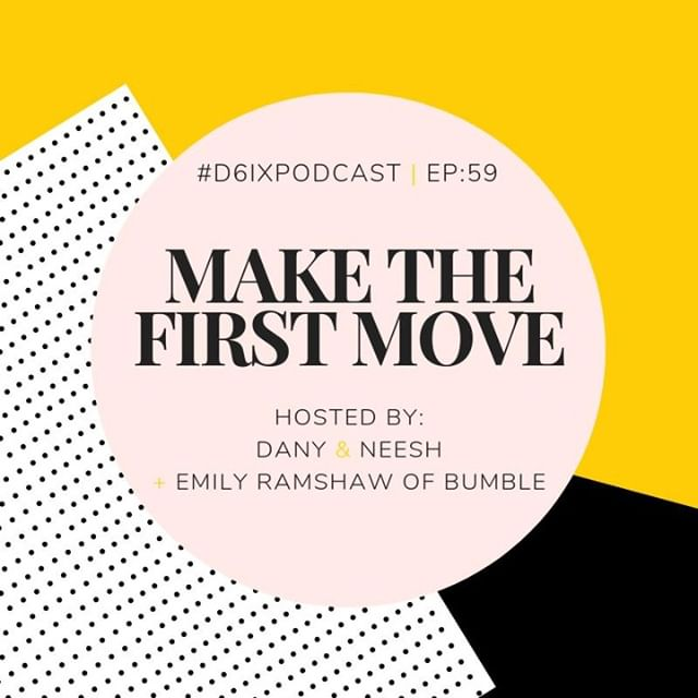 Hey Damsels! We're back with a NEW episode of the #D6IXPodcast and we're joined by @emilyjramshaw, the Canadian Lead of @bumble. 🐝. We chat about everything from women making the first move in their professional lives, in adult friendships, and much more! 🙌🏽 . 🎙️ Listen now! Link in bio. . #bumble #torontopodcast #makethefirstmove